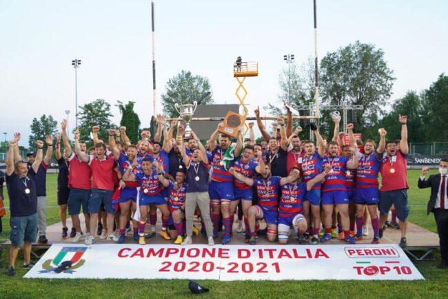 Rugby lariano Ruggeri e Rovigo tricolori
