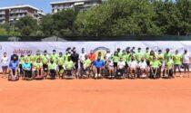 Tennis in carrozzina OSHa ASP di Como a un passo dalla finale lombarda di wheelchair