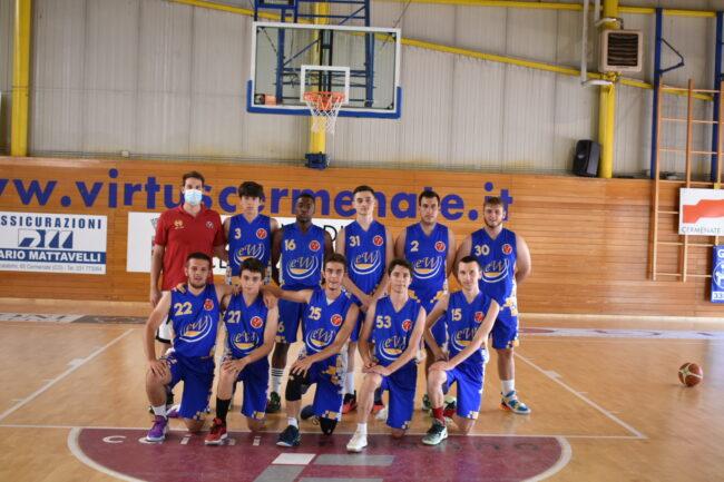 basket giovanile Villa Guardia U18