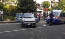Incidente ad Anzano: finisce con l'auto contro un furgone in sosta