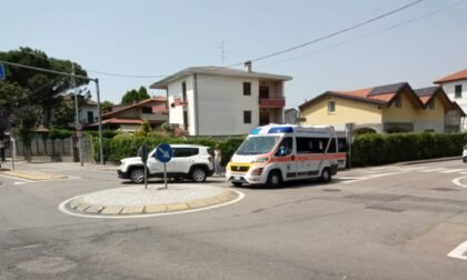 Incidente a Cermenate: scontro tra auto e moto, ferito 27enne