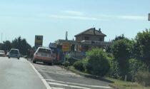 Incidente a Mariano: centauro 50enne finisce sull'asfalto