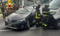 Incidente a Cantù, un ferito trasportato all'ospedale