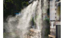 Tutti i vantaggi dei nebulizzatori per raffrescamento