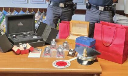 Voleva entrare in Italia con orologi di valore: fermato dalla Guardia di Finanza