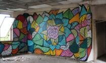 Con la «street art» si riporta decoro  a facciate di edifici vecchi e degradati