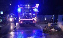 Incidente a Cantù: dimesso dall'ospedale il giovane motocilista ferito