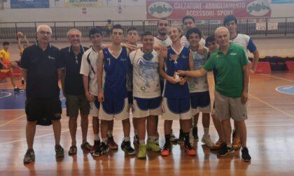 Basket lariano gli Under18 della pallacanestro Albavilla presenti alla Coppa Adriatica 2021