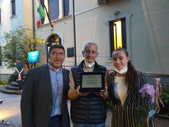 Albese Volley premiazione in Comune