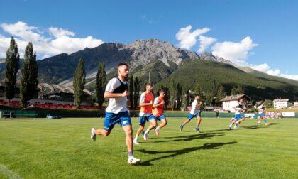 Como calcio prima partitella in famiglia per gli azzurri: la prima rete 2021/22 è di Alessandro Gabrielloni