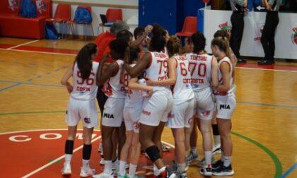 Basket femminile si spegne il sogno A2 per le 4 cestiste comasche di Costa Masnaga