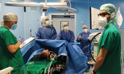 Nuovo blocco operatorio dell'ospedale di Cantù: oggi i primi dieci interventi