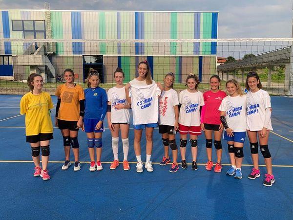 Albese Volley camp estivo