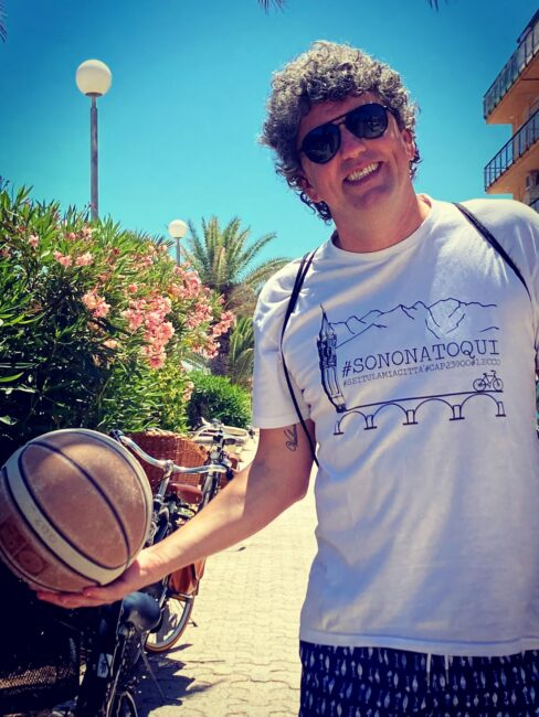 Basket lariano arturo Fracassa