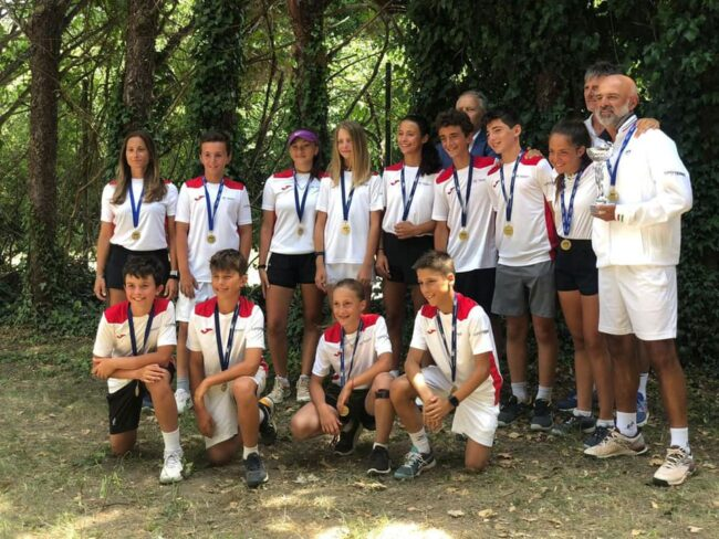 Tennis Como la Lombardia vince la Coppa Belardinelli
