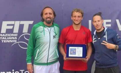 Tennis lariano, Federico Arnaboldi trionfa al torneo ITF di L'Aquila