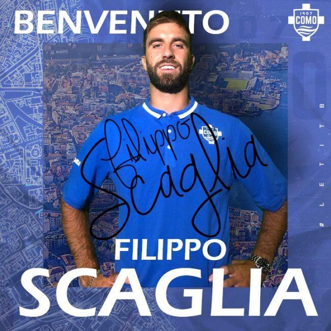 Como calcio Filippo Scaglia nuovo colpo