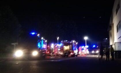 Incendio in azienda ad Albese con Cassano