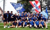 Mister Gattuso, i campioni del passato e la Pineta colorata d'azzurro