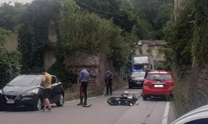 Incidente ad Alzate Brianza, ferito un 30enne. Traffico in tilt