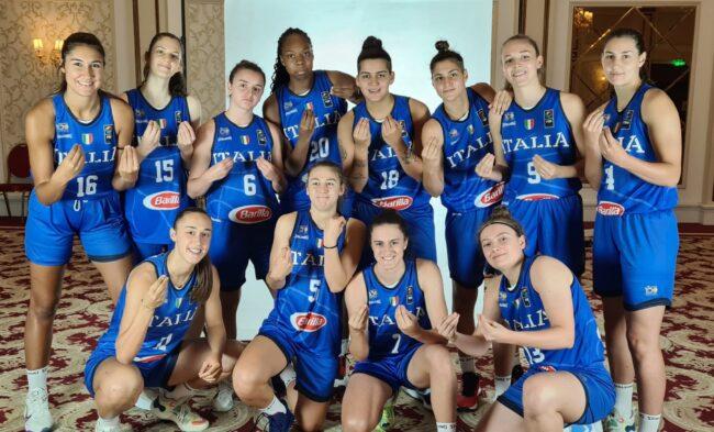 Basket femminile Italia u20
