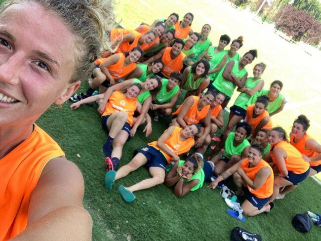 Rugby femminile Raduno Italia