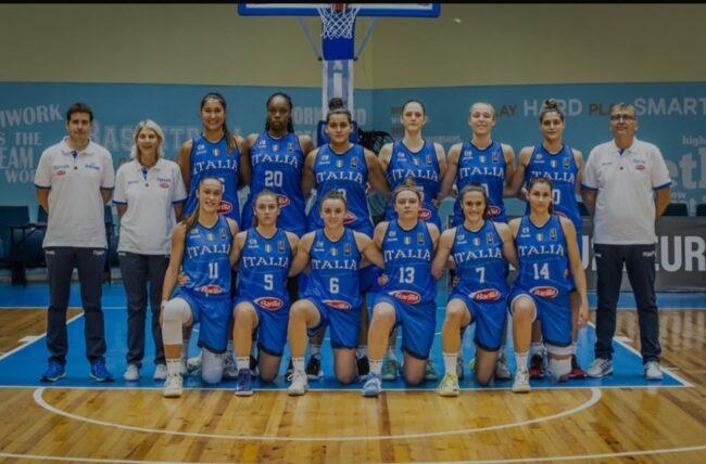 Basket femminile Italia Under20