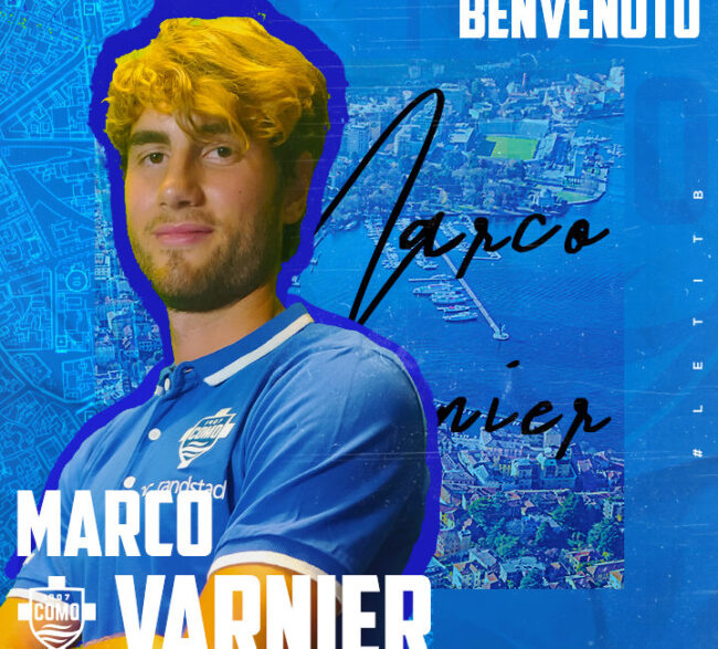 Como calcio Marco varnier