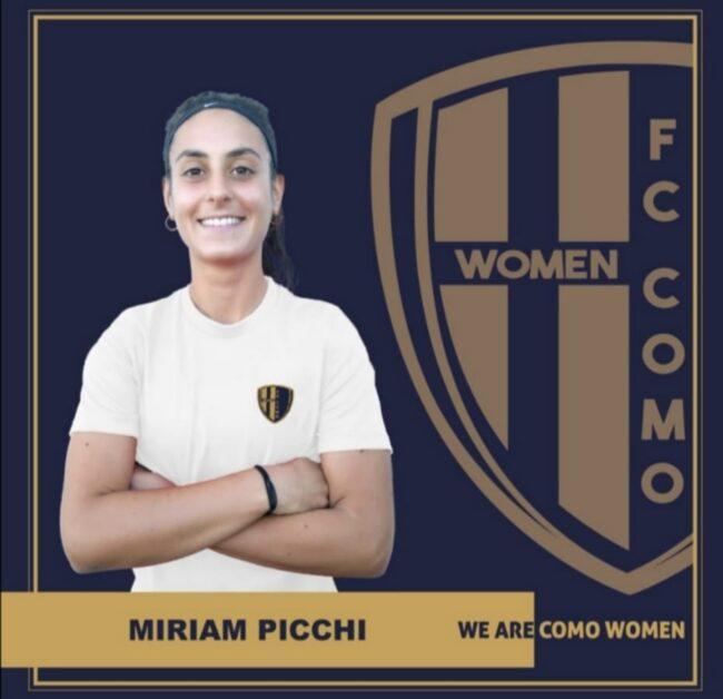 Como women Miriam Picchi