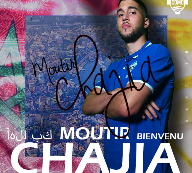 Como calcio Moutir Chajia