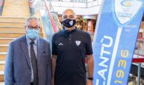 """Serie A2, Pallacanestro Cantù nel Girone Verde. Sodini: """"Speriamo di poter giocare davanti alla gente"""""""
