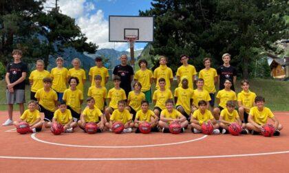 Pallacanestro lariana SCB Basketball camp 2021 tra tanto divertimento e un saluto speciale