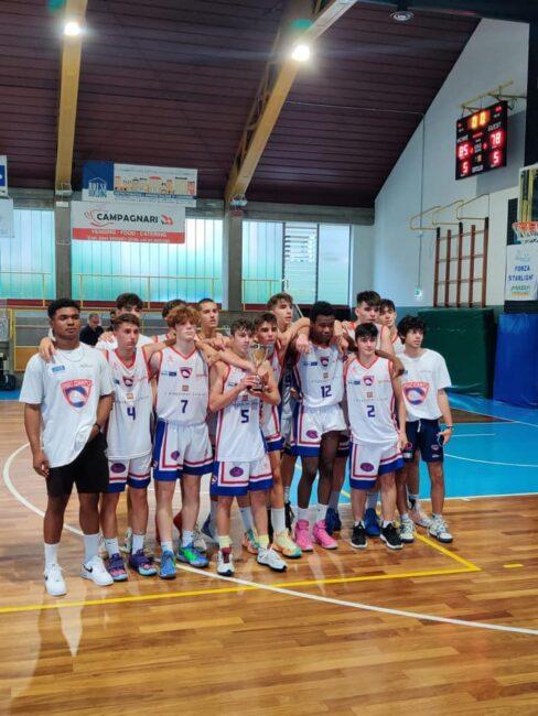 Progetto Giovabi cantù U16 secondi in Lombardia