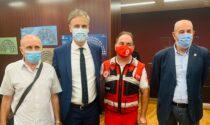 Autobus in fiamme a Fiumelatte: premiati da Regione Lombardia l'autista e l'animatore eroi