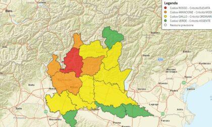 Allerta rossa rischio idrogeologico per il Lario e le Prealpi Occidentali