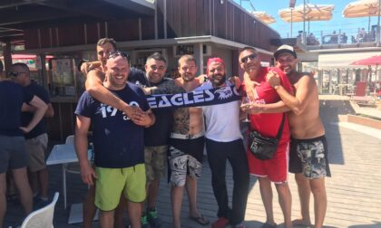 Rimpatriata tra Eagles e tifosi di Pesaro