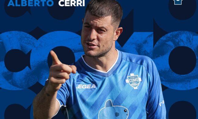 Como calcio Alberto Cerri