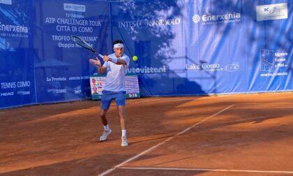 Tennis lariano, Andrea Armaboldi è stato eliminato ai quarti di finale del Challenger di Losinj