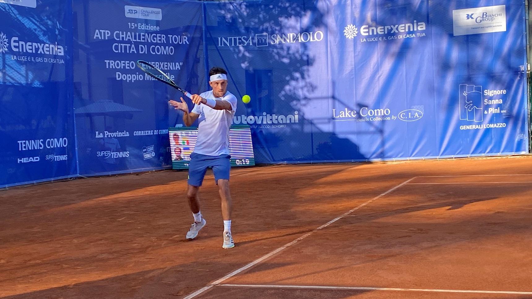 Tennis lariano, oggi torna in campo Andrea Arnaboldi per gli ottavi di  finale del Città di Como - Prima Como