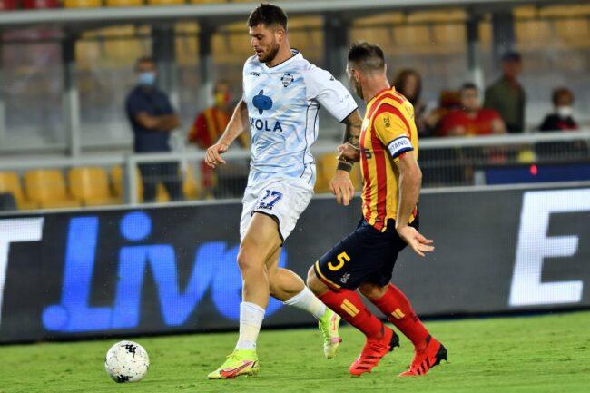 Como calcio Cerri in rete a Lecce