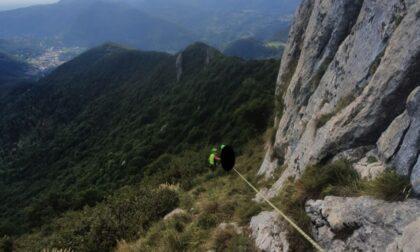 In difficoltà ai Corni di Canzo: uomo salvato dal soccorso Alpino
