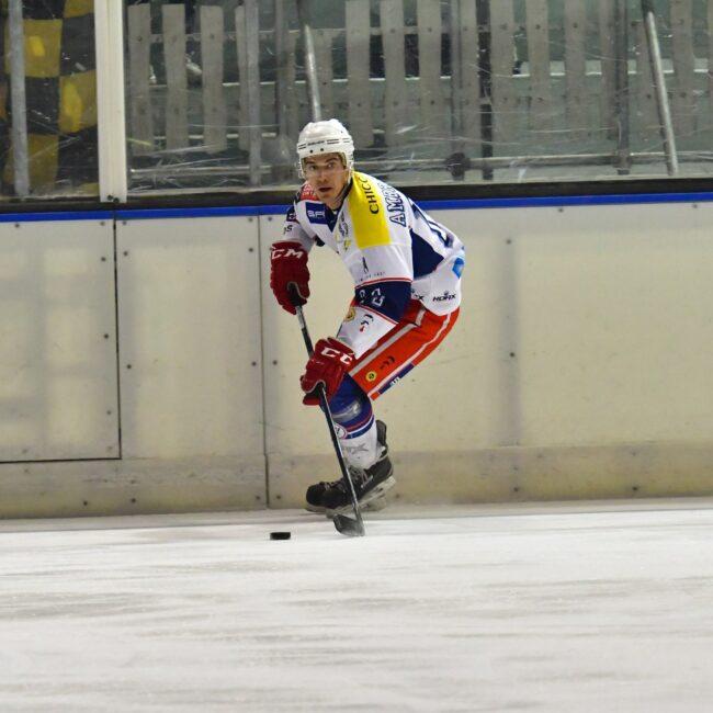 Hockey Como Filippo Ambrosoli addio