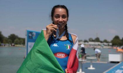 Canottieri Moltrasio Giulia Magdalena Clerici è vice campione del Mondo nel singolo femminile