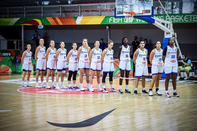 basket femminile Italia U19 ko ai mondiali