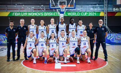Basket femminile l'Italia della brianzola Meriem Nasraoui chiude all'11° posto ai Mondiali U19