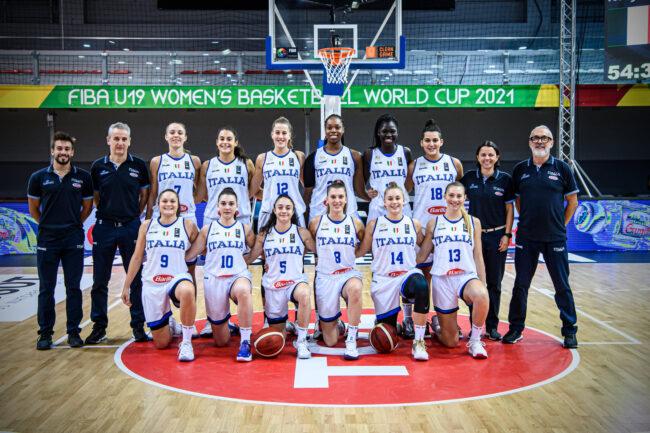 basket femminile Italia u19