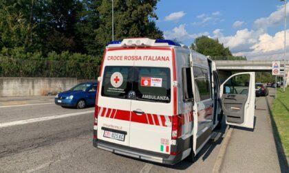 Investimento a Montano Lucino: giovane in ospedale