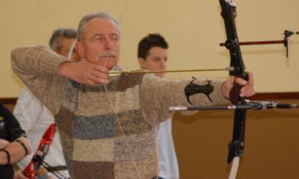 Erba in lutto: addio a Santambrogio, aveva fondato l'Asd Tiro con l'arco
