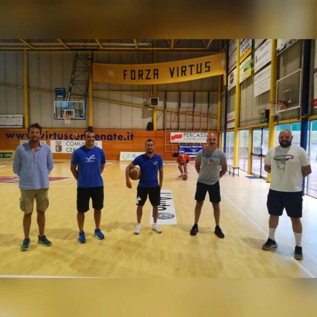 Basket C Gold VIrtus Cermenate staff