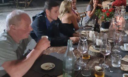 Javier Zanetti all'agriturismo Cascina Mirandola per la lattina celebrativa dello scudetto interista